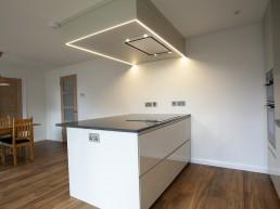 Open plan kitchen/diner by Flint & Dean