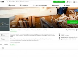 Flint & Dean profile on Houzz.co.uk