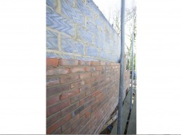 Breeze and Brickwork Detail for extension in Milland